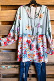 AHB EXCLUSIVE: Step Into My World Tunic - Blue