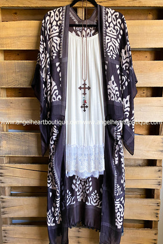 AHB EXCLUSIVE: Bright Morning Tunic -  Multi