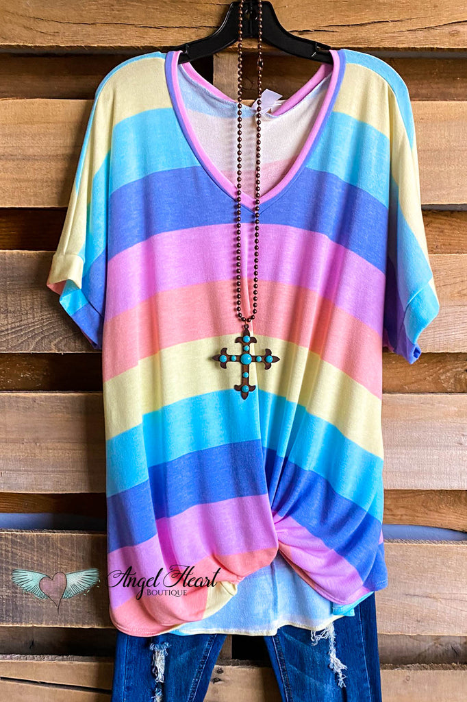 Perfect Pastels Top - Multi