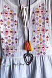 Choose To Charm Tunic - Ivory - 100% COTTON - SALE