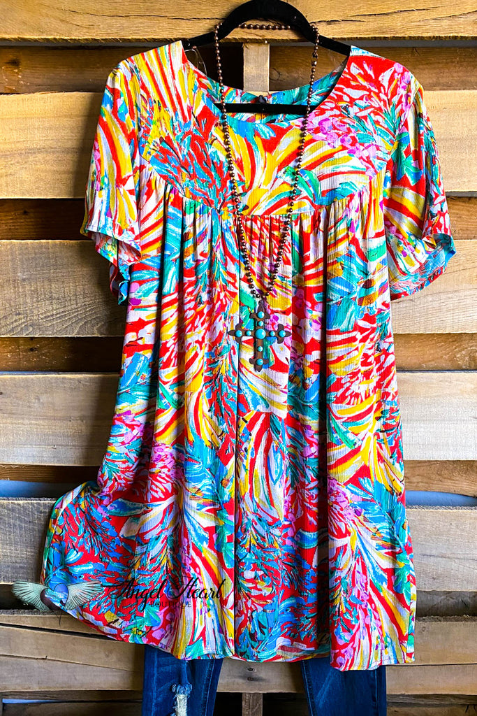 Vacation Planned Dress - Multi