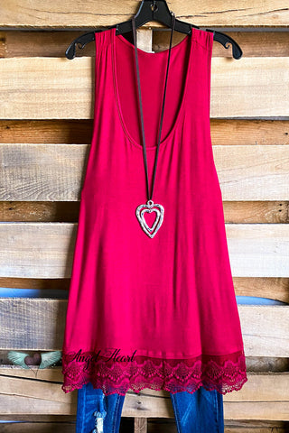 Extender: Slip on Tank/Tunic - Pink