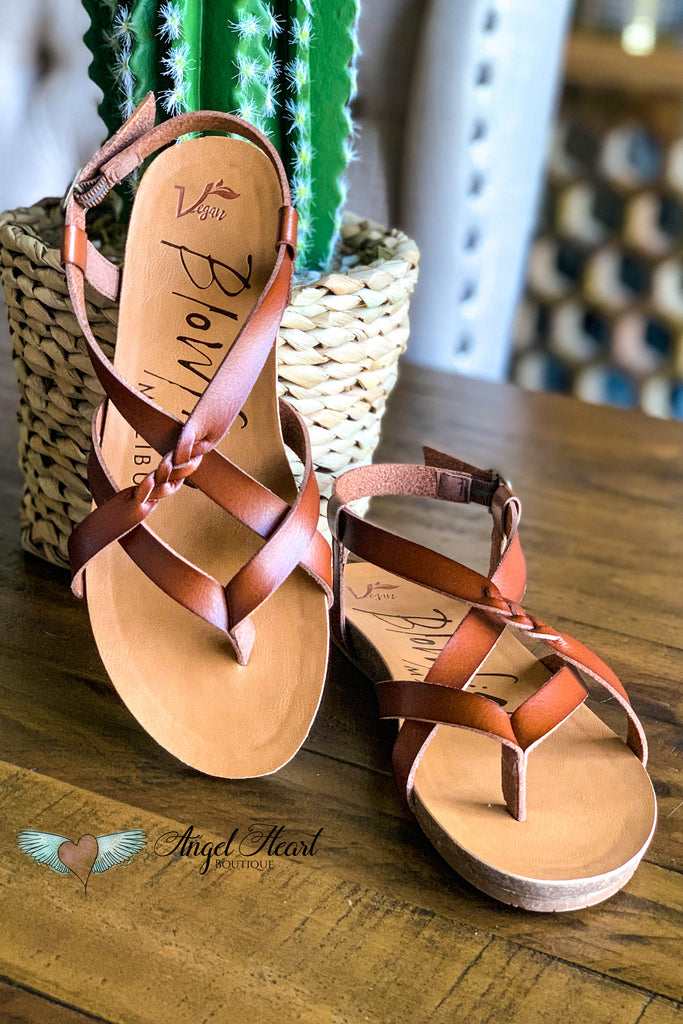 Walking on Sunshine Vegan Leather Sandals