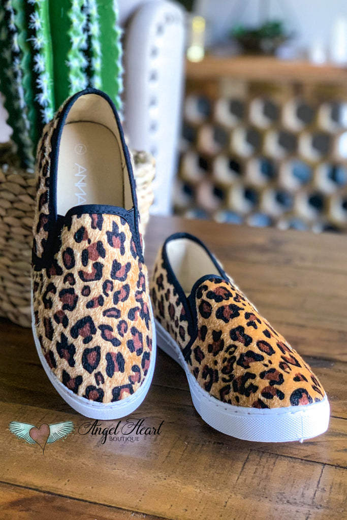 Cat Walk Sneakers - Leopard - SALE