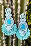 Sammy Teal Earrings