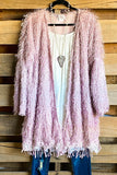 AHB EXCLUSIVE: When In Love Cardigan - Dusty Rose