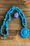 Day by Day Necklace - Turquoise