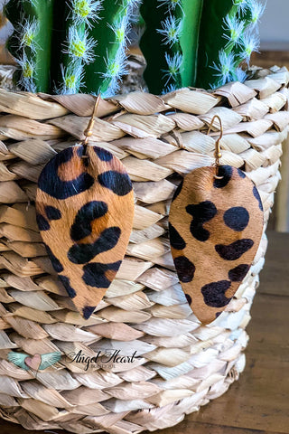 My Fierce Side Earrings - Leopard