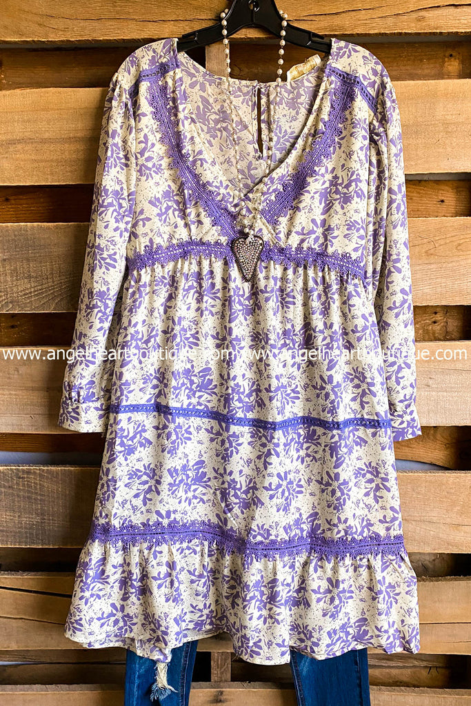 See You Tomorrow Dress - Lavender