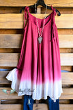 Sweet and Loving Tunic - Burgundy