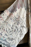 AHB EXCLUSIVE: Holding Hands Lace Kimono - Ivory/Rose Mix