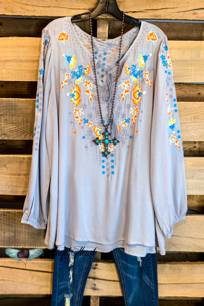 AHB EXCLUSIVE: All The Fairytales Top - Gray