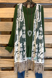 AHB EXCLUSIVE - Wild At Heart Vest - Grey Mix [product type] - Angel Heart Boutique