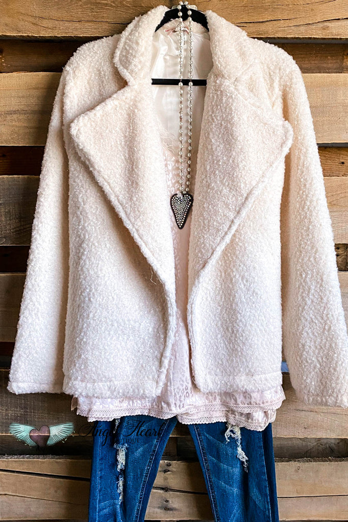 Embrace The Warmth Jacket - Ivory