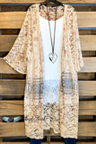 AHB EXCLUSIVE: Changing Lives Long Lace Duster