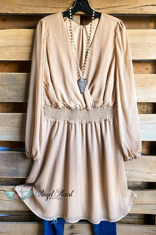 AHB EXCLUSIVE: Spring Sighting Tunic/Dress- Mocha