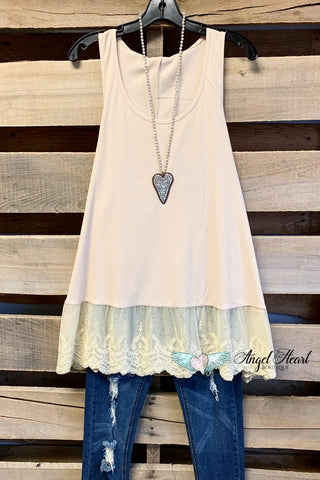 Slip On Dress - White