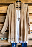 All About That Shine Cardigan - Beige