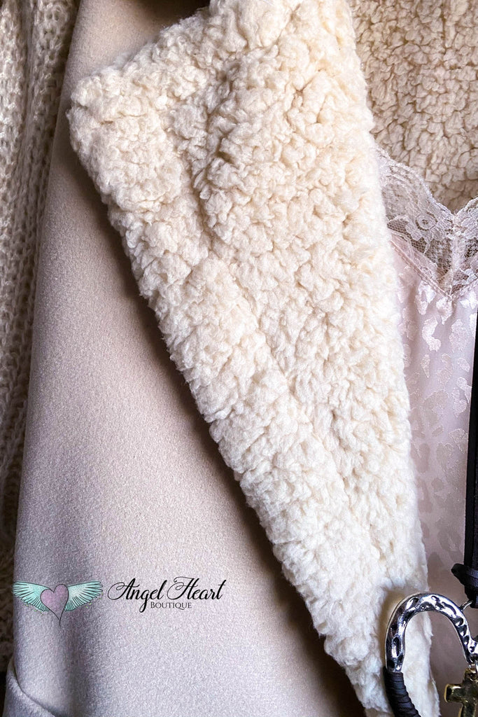 Winter Warmth Coat - Cream