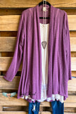 All About That Shine Cardigan - Mauve