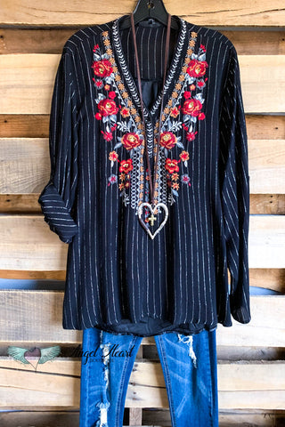 AHB EXCLUSIVE: Secret Garden Cardigan - Black