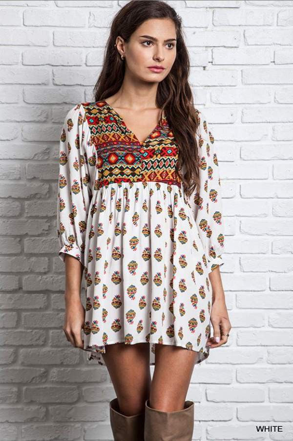 Navajo Moon Tunic - SALE - Angel Heart Boutique - Dress - Angel Heart Boutique  - 2