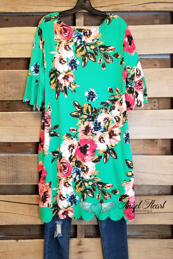 High Skies Dress - Green