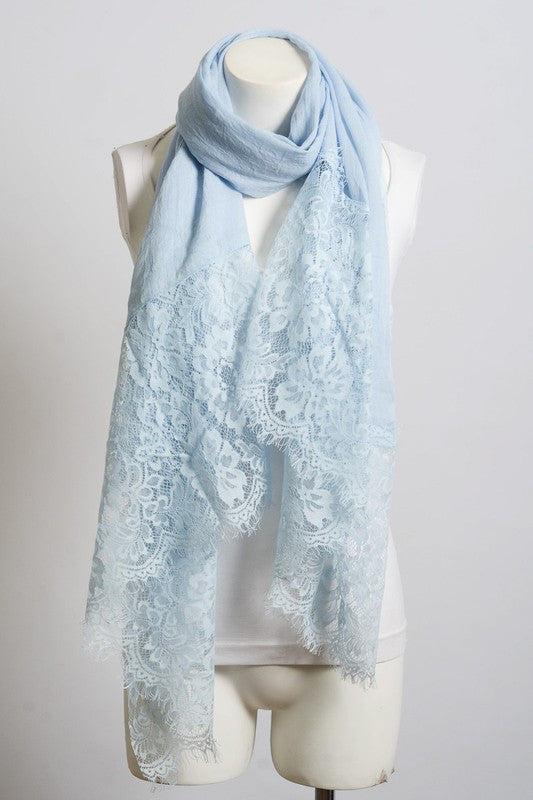 What Love Is Scarf - Aqua - Angel Heart Boutique - Scarf - Angel Heart Boutique  - 2