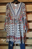Can't Get Enough Dress - Sunset - Umgee - Tunic - Angel Heart Boutique  - 1