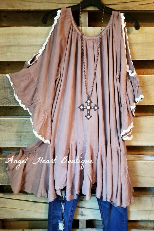 Sure To Be Cool Dress - Mocha [product type] - Angel Heart Boutique