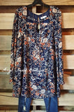 Edge of Forever Dress - Navy - Umgee - Dresses - Angel Heart Boutique  - 1