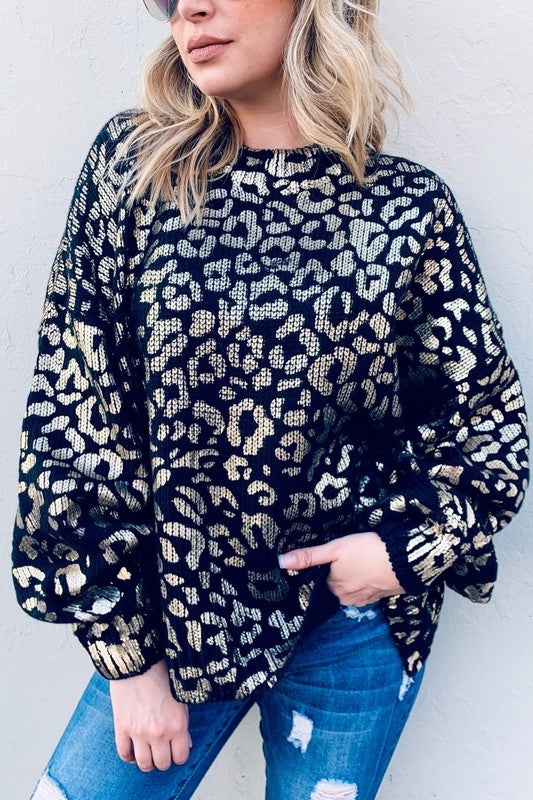 Flawlessly Fierce Sweater - Black