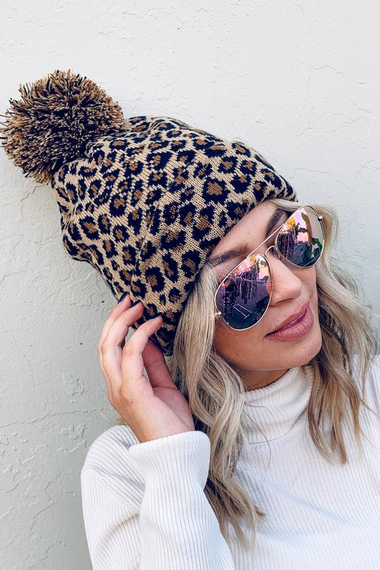 Simply Spotted Leopard Beanie