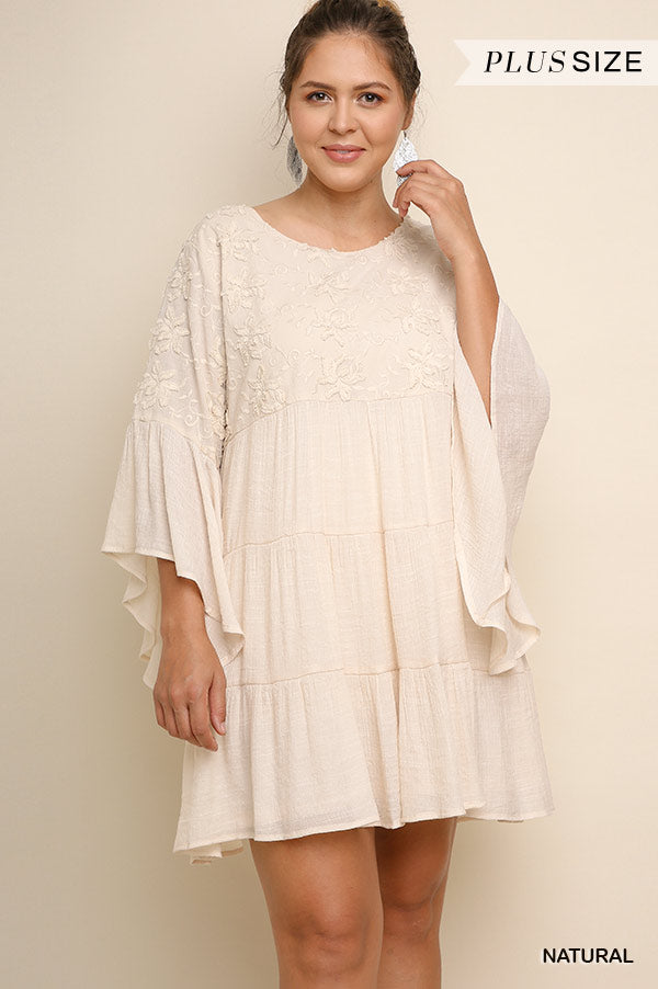 Lead Me There Dress - Natural- SALE