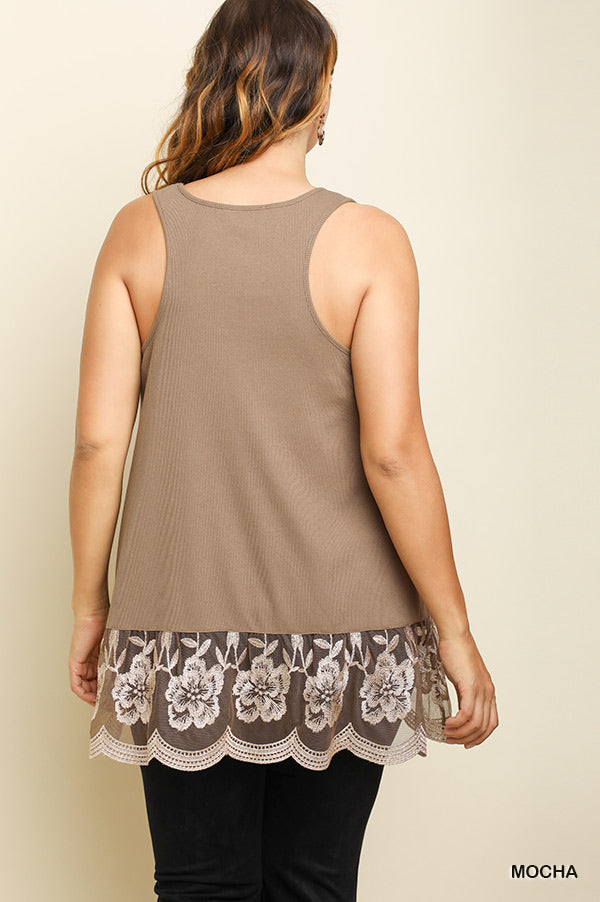 On My Wishlist Tank Top - Mocha [product type] - Angel Heart Boutique