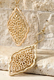 Styled Beauty Earrings - Gold