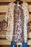 Love Notes Tunic - Purple Mix - Umgee - Dress - Angel Heart Boutique  - 1