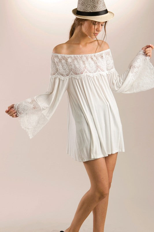 Wishes Do Come True Tunic - Ivory