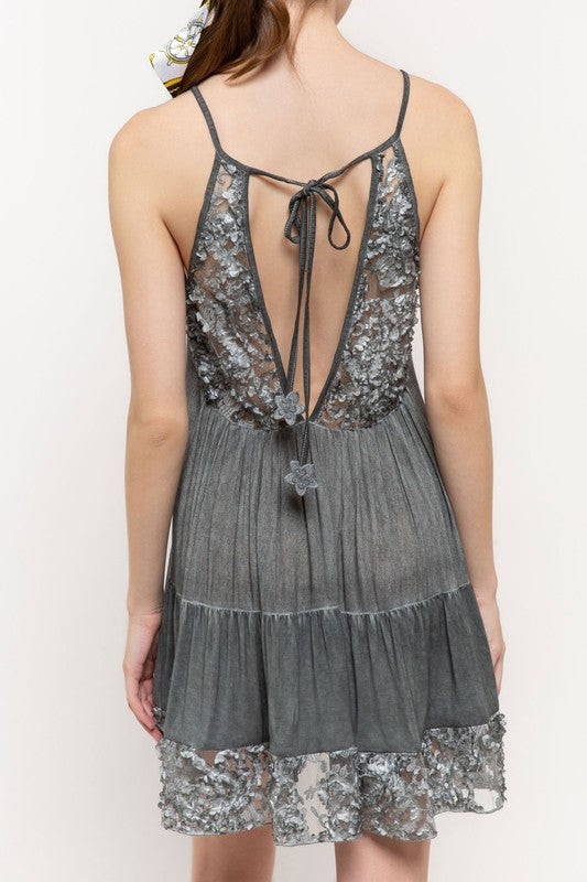 Lead Me To New Adventures  Dress - Charcoal