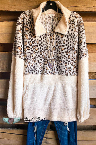 Soft Stars Sweater - Taupe