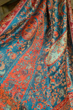 Forever Enchanted Scarf - Turquoise/Red