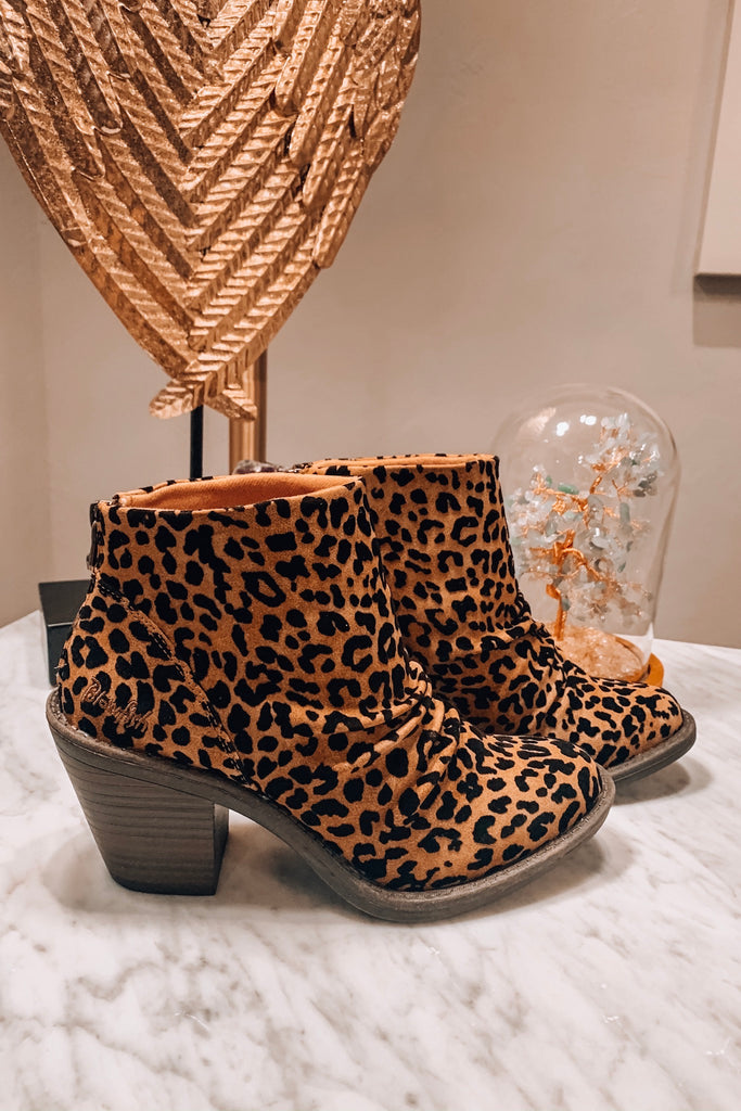 Leave Your Mark Booties - Leopard