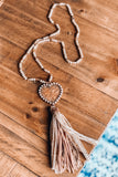 Straight To Your Heart Necklace - Cooper