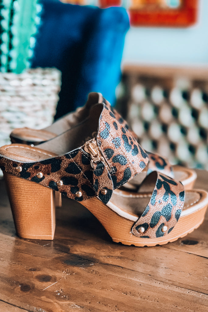 Way To Your Heart Shoes - Leopard