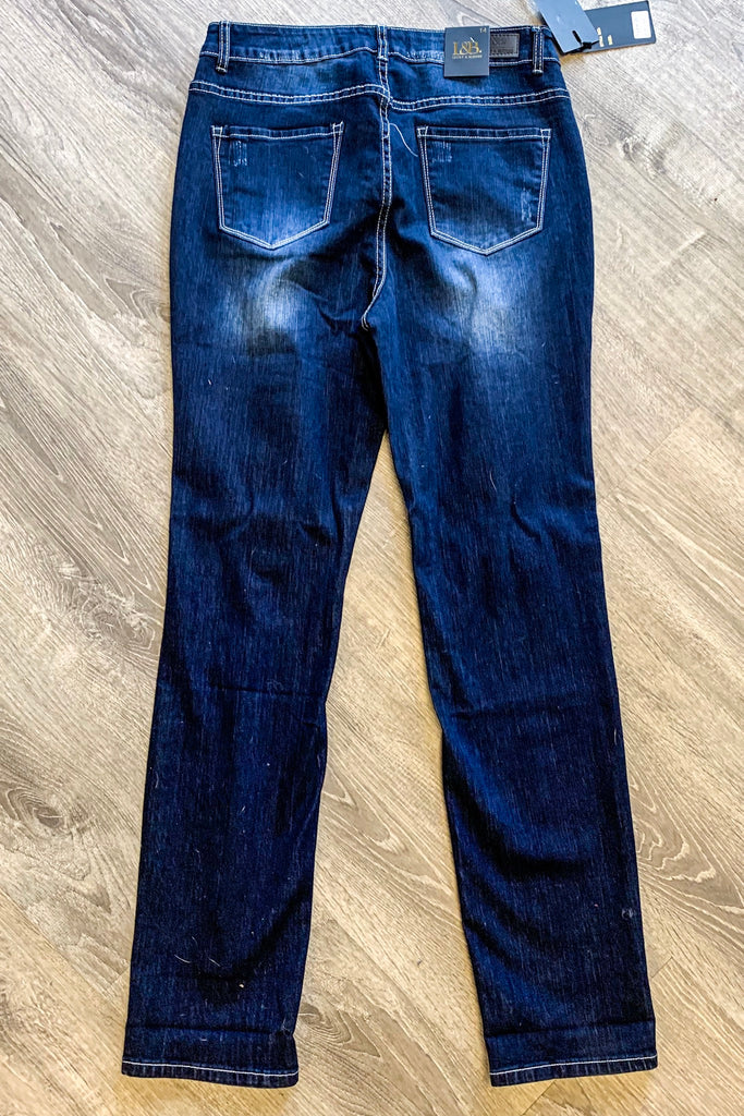 Perfect Fit Dark Wash Jeans
