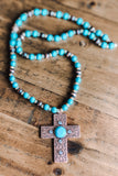 Beneath The Moonlight Necklace - Turquoise