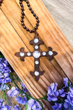 AHB EXCLUSIVE: Cross To My Heart Necklace - Diamond