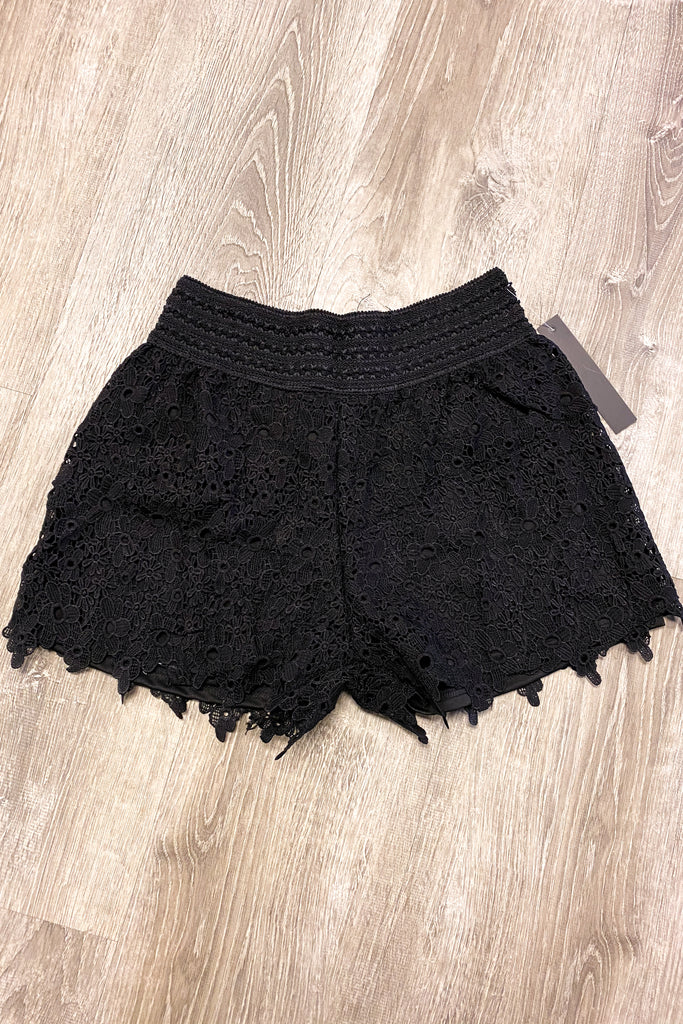 Sunshine For Days Shorts -Black FINAL SALE