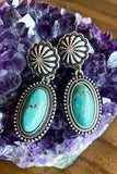 AUTHENTIC TURQUOISE STONE - Waking Wonder Earnings