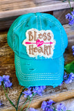 Bless Your Heart Hat - Mint